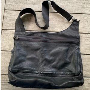DKNY Vintage Leather Satchel Bag